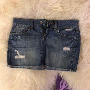 Refuge juniors size 1 jean skirt